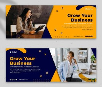 Premium Quality Facebook Business Banner Template PSD