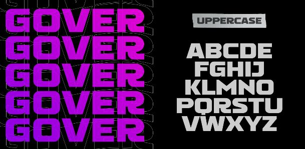 GOVER Display Font