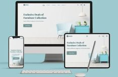 Furniture E-commerce Website Template For Figma
