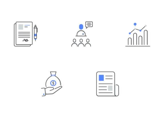 Business & Finance Vector Icons