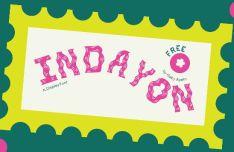 Indayon Display Font