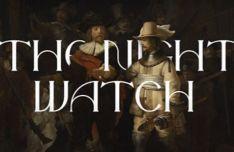 Night Watch Font