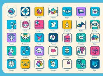 64 Pokemon App Icons For iOS