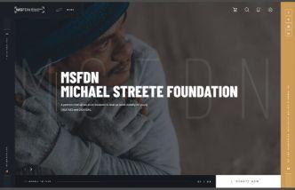 Charity Web Template Adobe XD