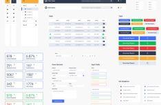 Elegant Web UI Kit (AI & PSD)