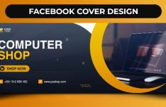 Professional Facebook Cover Design Photoshop