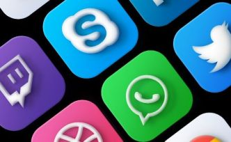 30 Neumorphism MacOS Big Sur Social App Icons