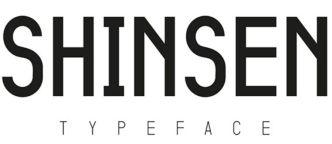Shinsen Typeface
