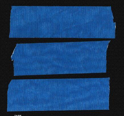Fabric Tape PSD Mockup
