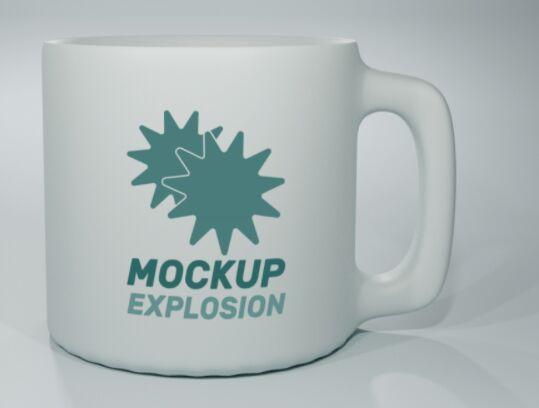 Creative Mug Mockup PSD