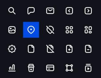 60 Universal Icons Figma