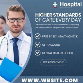 18 Editable Health Care Banners PSD
