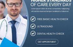 18 Editable Health Care Banners PSD