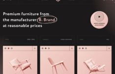 Furniture Catalog Page Template Figma