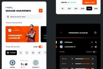 Betting Mobile App Concept Figma