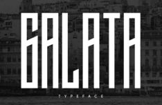 Galata Display Font