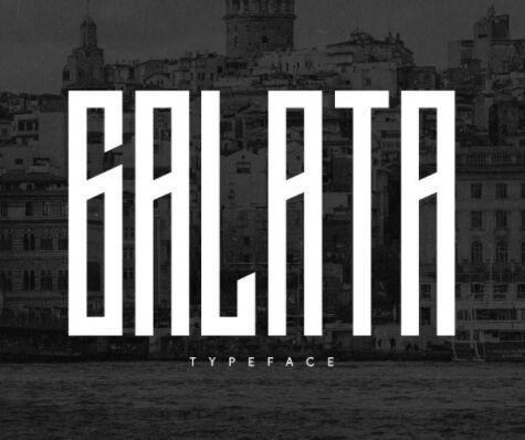 Galata Display Font