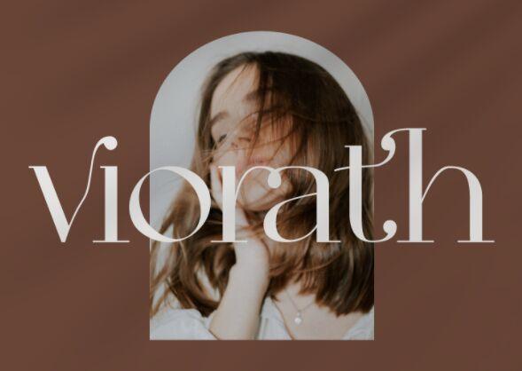 Viorath Modern Serif Font