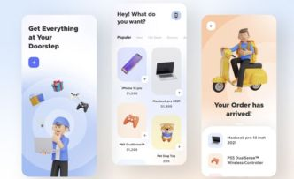 Ecommerce App UI Figma