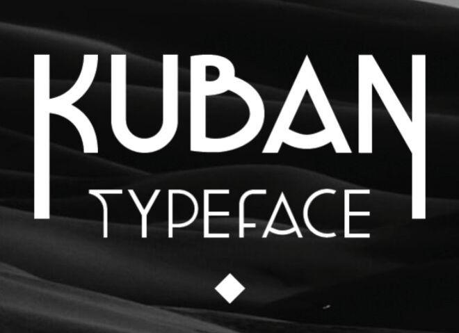 KUBAN PRO Typeface