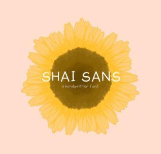 SHAI SANS Handwritten Font
