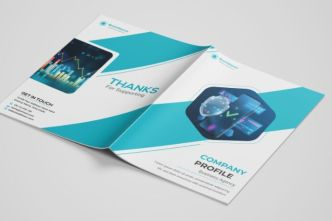 Company Profile & Brochure Vector Template