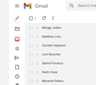 Gmail App Template Sketch
