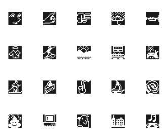 180 Pixel Emoji Pack Figma