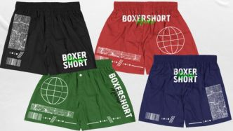 Editable Boxer Short PSD Mockup