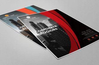 Corporate Brochure Flyer Design PSD