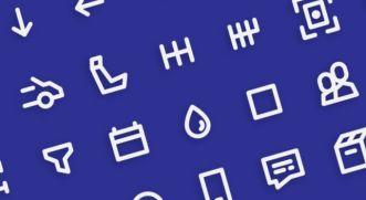 50 Pixel Perfect UI Icons Vector