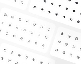 970+ Editable Icons Pack Figma