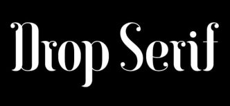 DropSerif Display Font