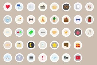 38 Instagram Highlight Cover Icons Figma