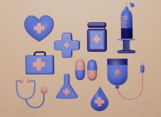 3D Medial Icons