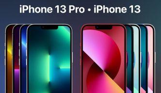 Realistic iPhone 13 & 13 Pro Mockup Figma
