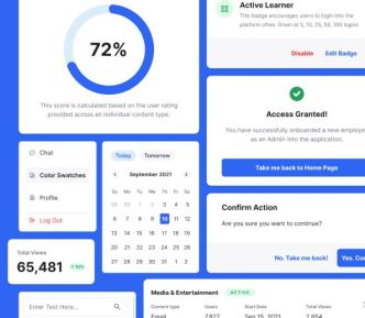 Admin System UI Kit Figma