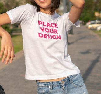 10 Premium Quality T-shirt Mockups PSD