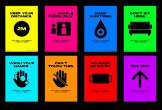 COVID-19 Pandemic Infographic Posters