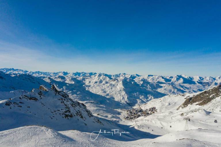 Val Thorens | The highest ski town in Europe | 7km Luge (Sled) course