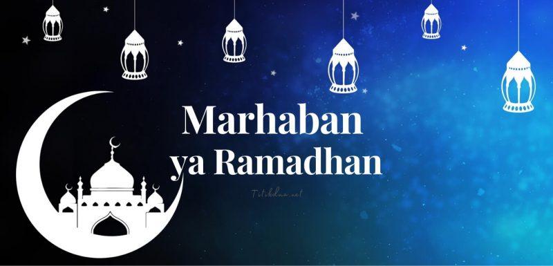Kumpulan kata kata menyambut bulan ramadhan
