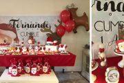 Mesa de dulces Navidad