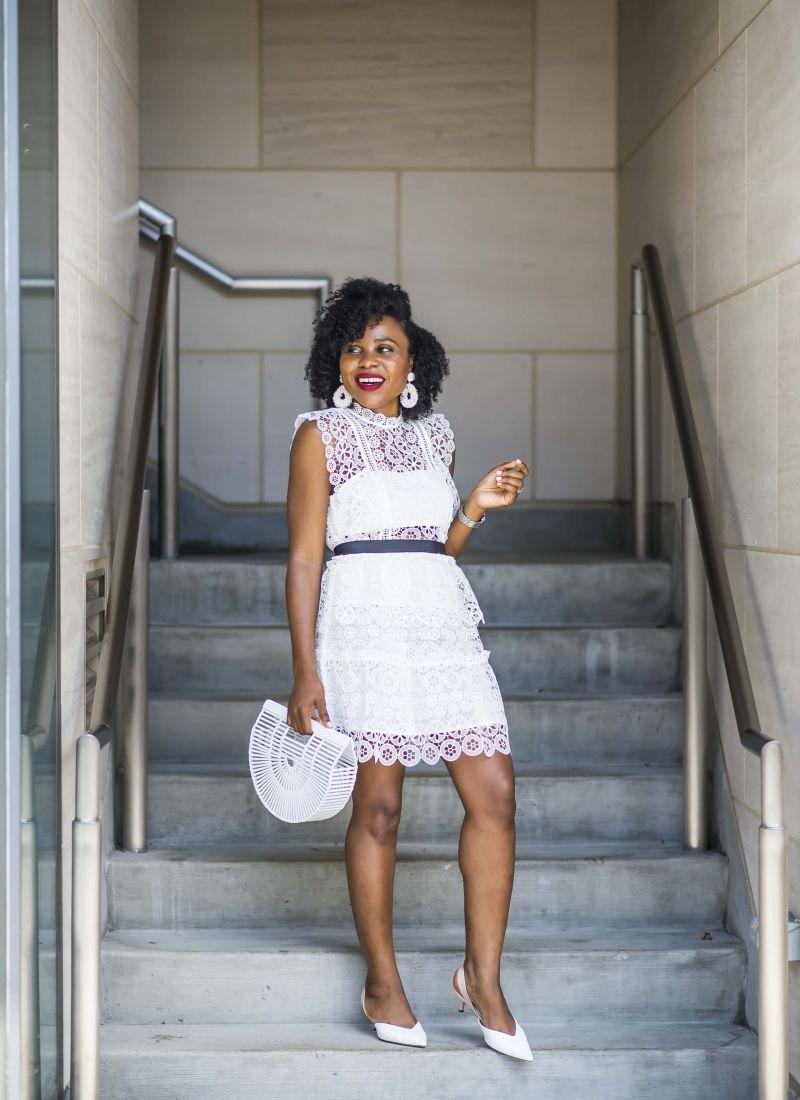 Summer Essential: A white Dress