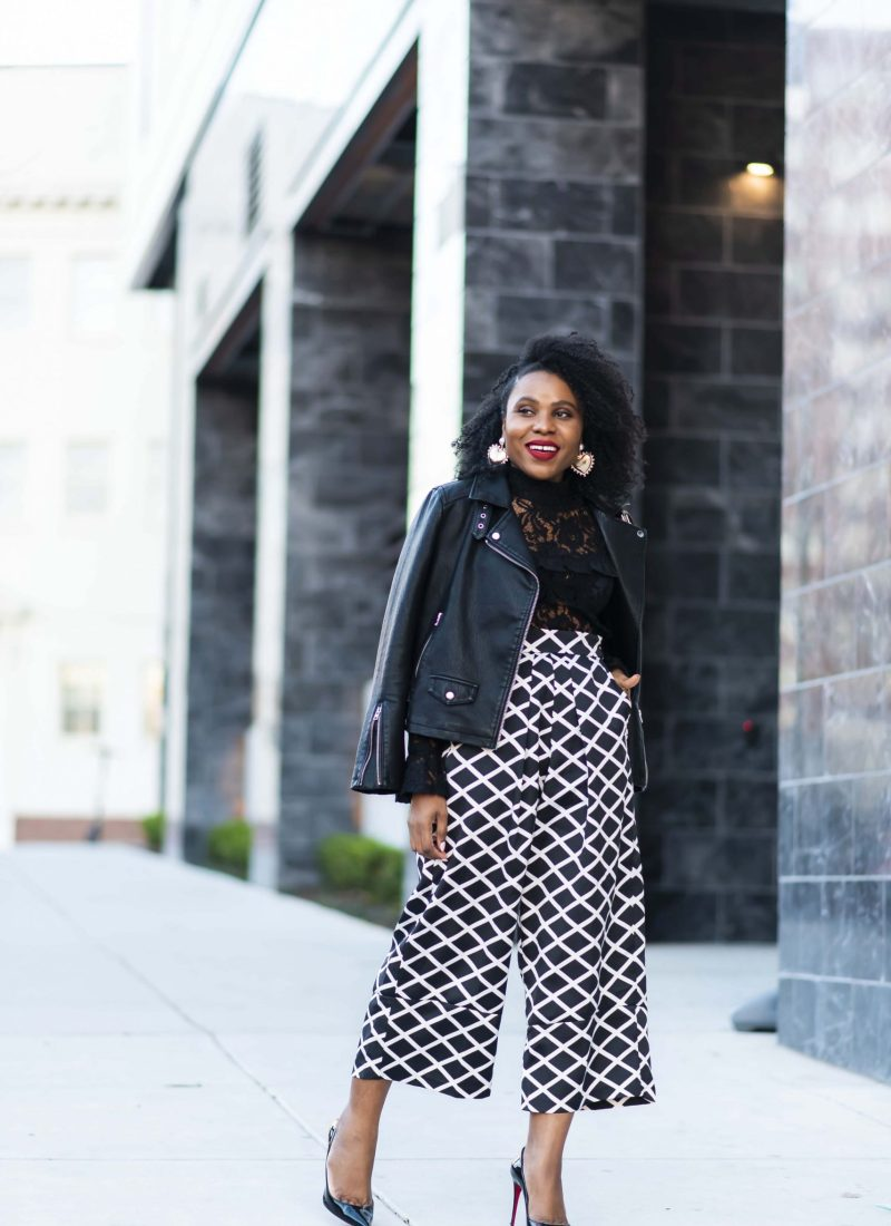 culottes: date night or any time fashion inspiration