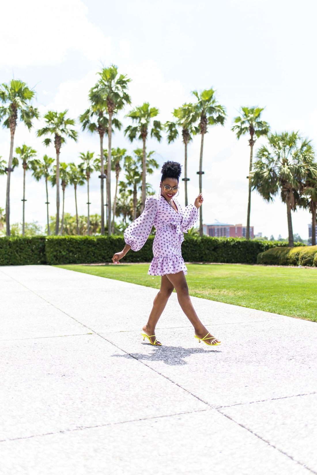 instagram recap purple mini cocktail dress