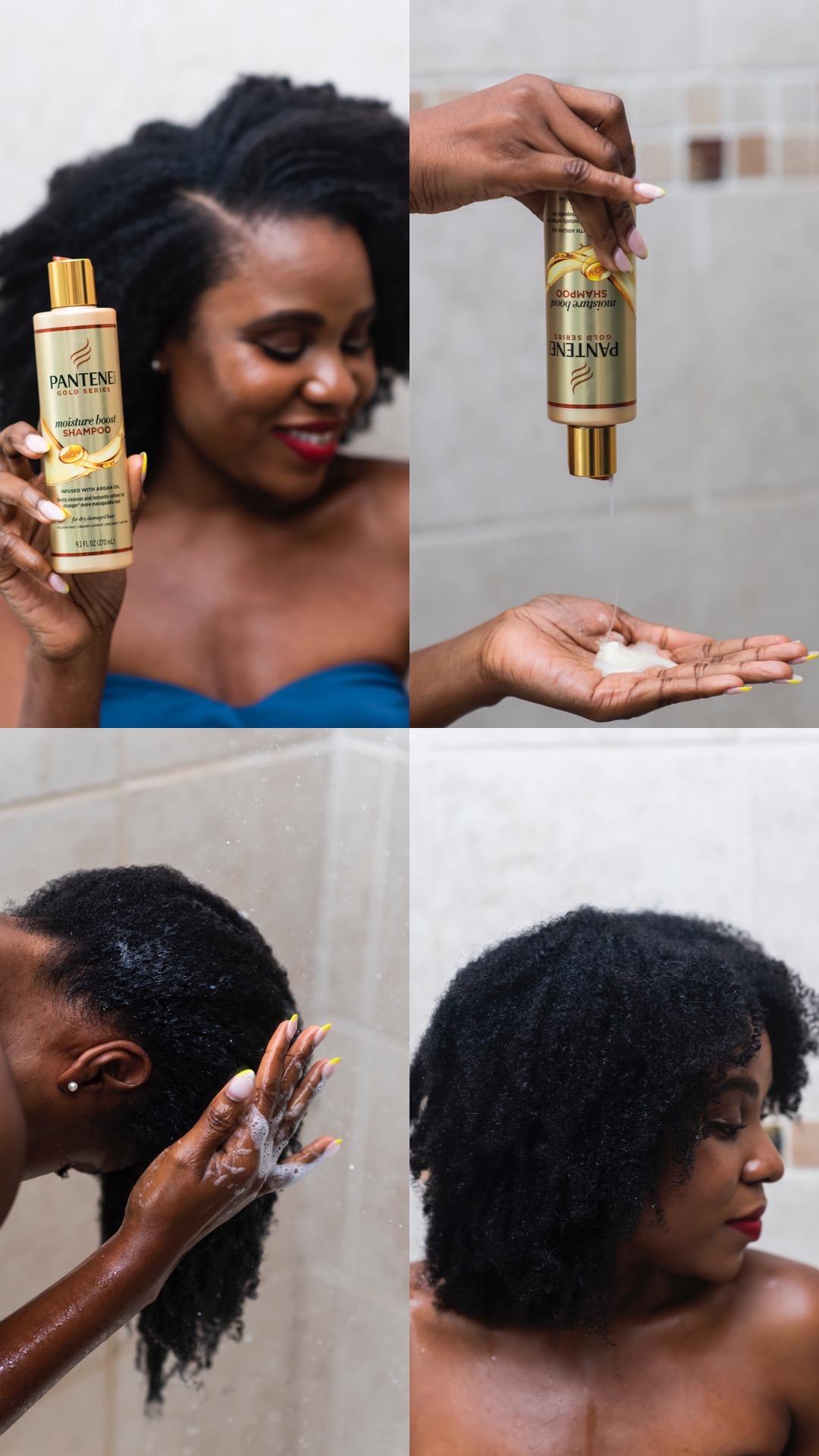 natural hair wash day