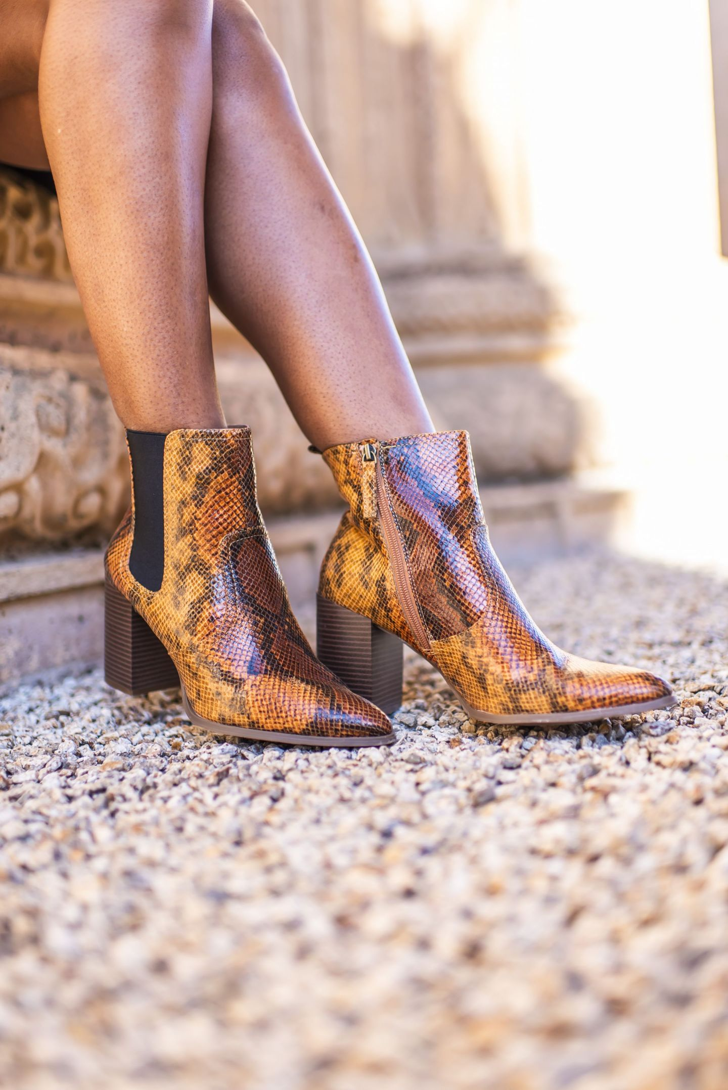 Chelsea Heeled Boots