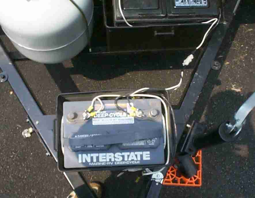 Wiring A Tent Trailer Battery