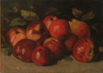 Still Life with Apples and a Pear