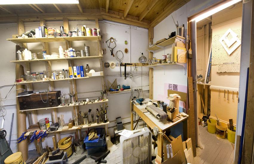 Bill Walton's Studio